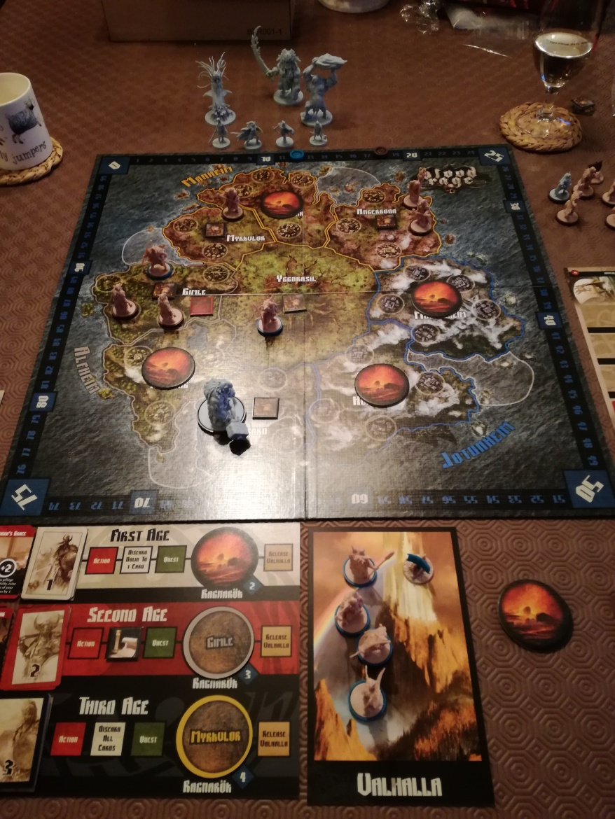 Blood Rage: 3 Player