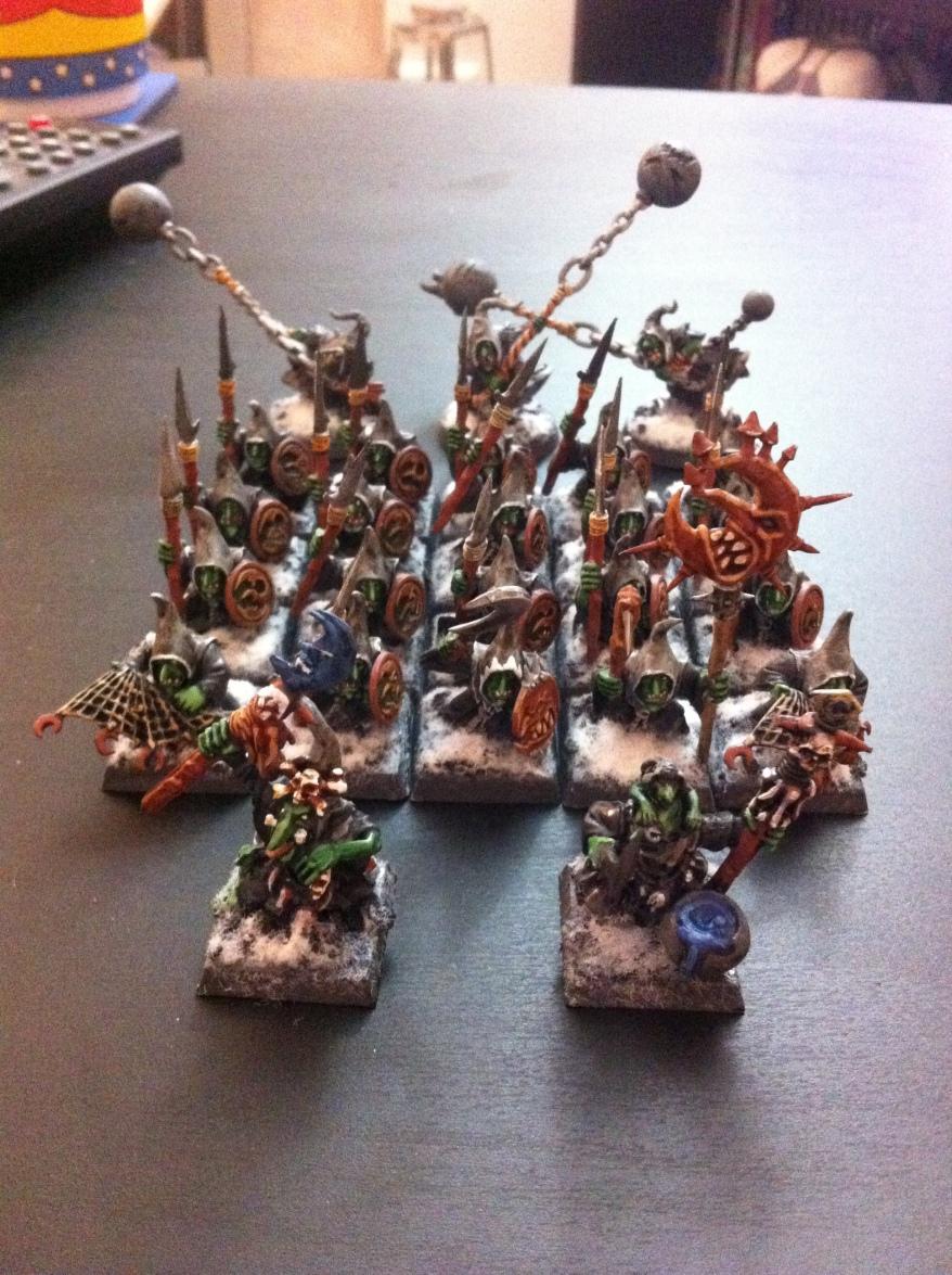 Night Goblin Regiment