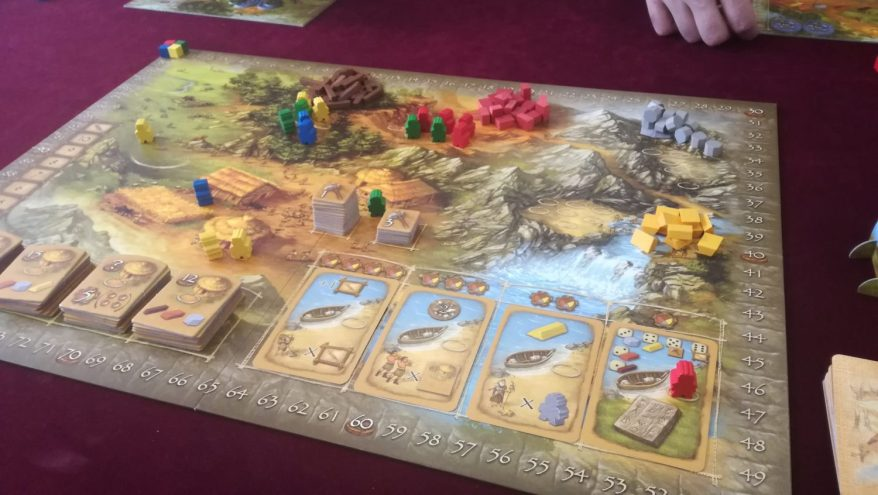 Mid-Game Stone Age Board