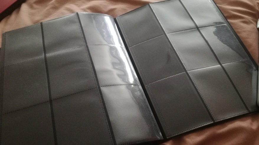 Empty binder