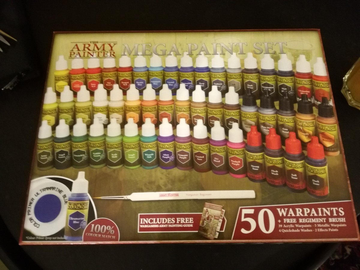 Review: Army Painter Warpaints Mega Paint Set - More Paint Than You Can Shake A Brush At