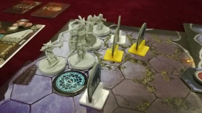 Using a Rat Swarm as a shield.