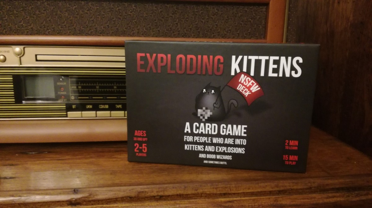 How Dirty is the Exploding Kittens: NSFW Deck?