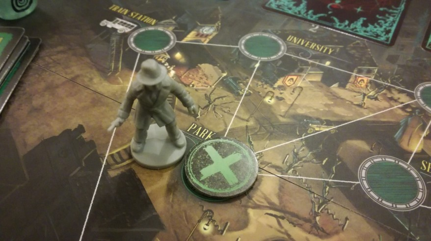 Closing a gate in Pandemic: Reign of Cthulhu
