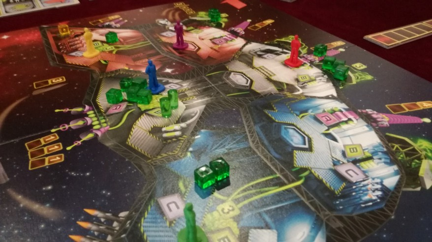 Space Alert vs Captain Sonar - Space Alert Board