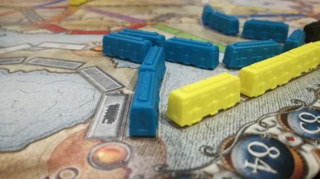 Ticket to Ride strategy. From Paris to Smolensk and back.