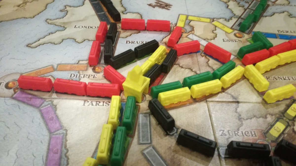Comparing Eurogames: Ticket to Ride, Catan, Agricola, and Carcassonne