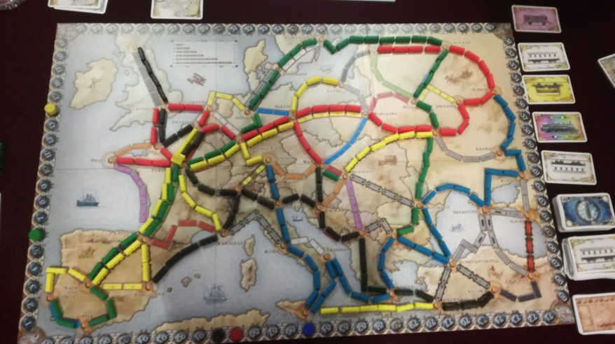 Ticket to Ride strategy - Longest Journey