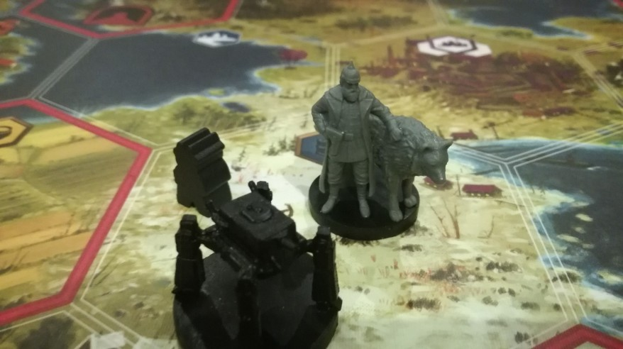 Scythe Strategy - Gunter with Nacht or Tag (one of the two)