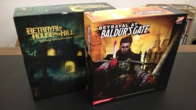 Betrayal at House on the Hill vs Betrayal at Baldur's Gate