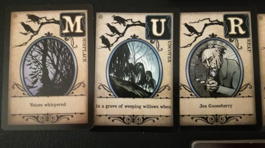 Murder of Crows cards