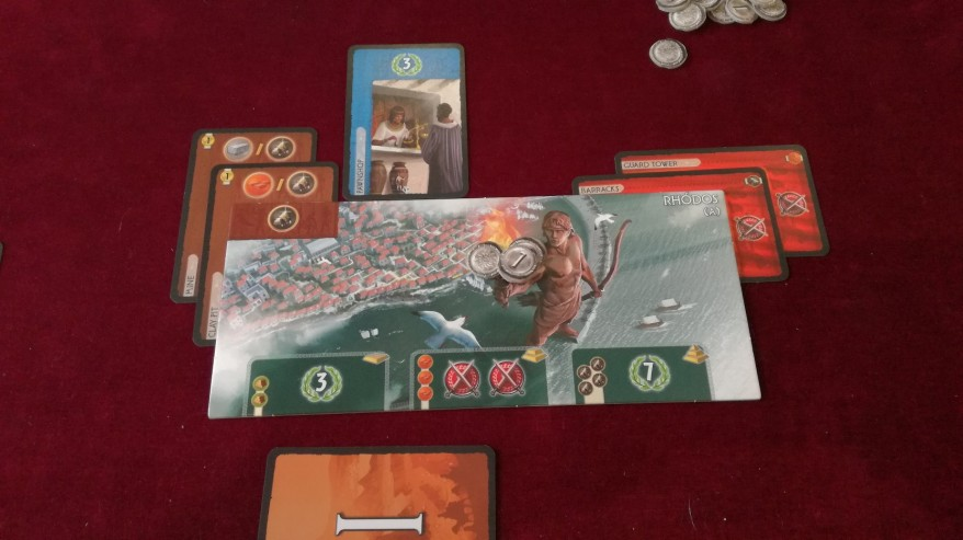 7 Wonders Review: A First Age Colossus at Rhodes