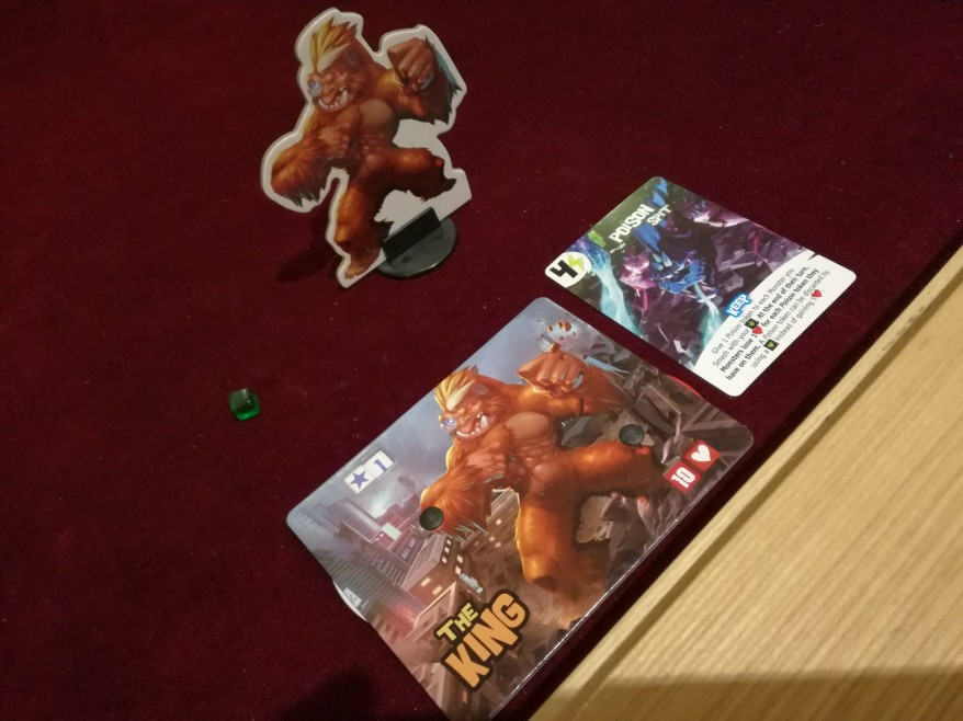 What is King of Tokyo? The King - A character card and the upgrade of