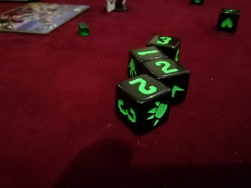 What is King of Tokyo? The dice in King of Tokyo