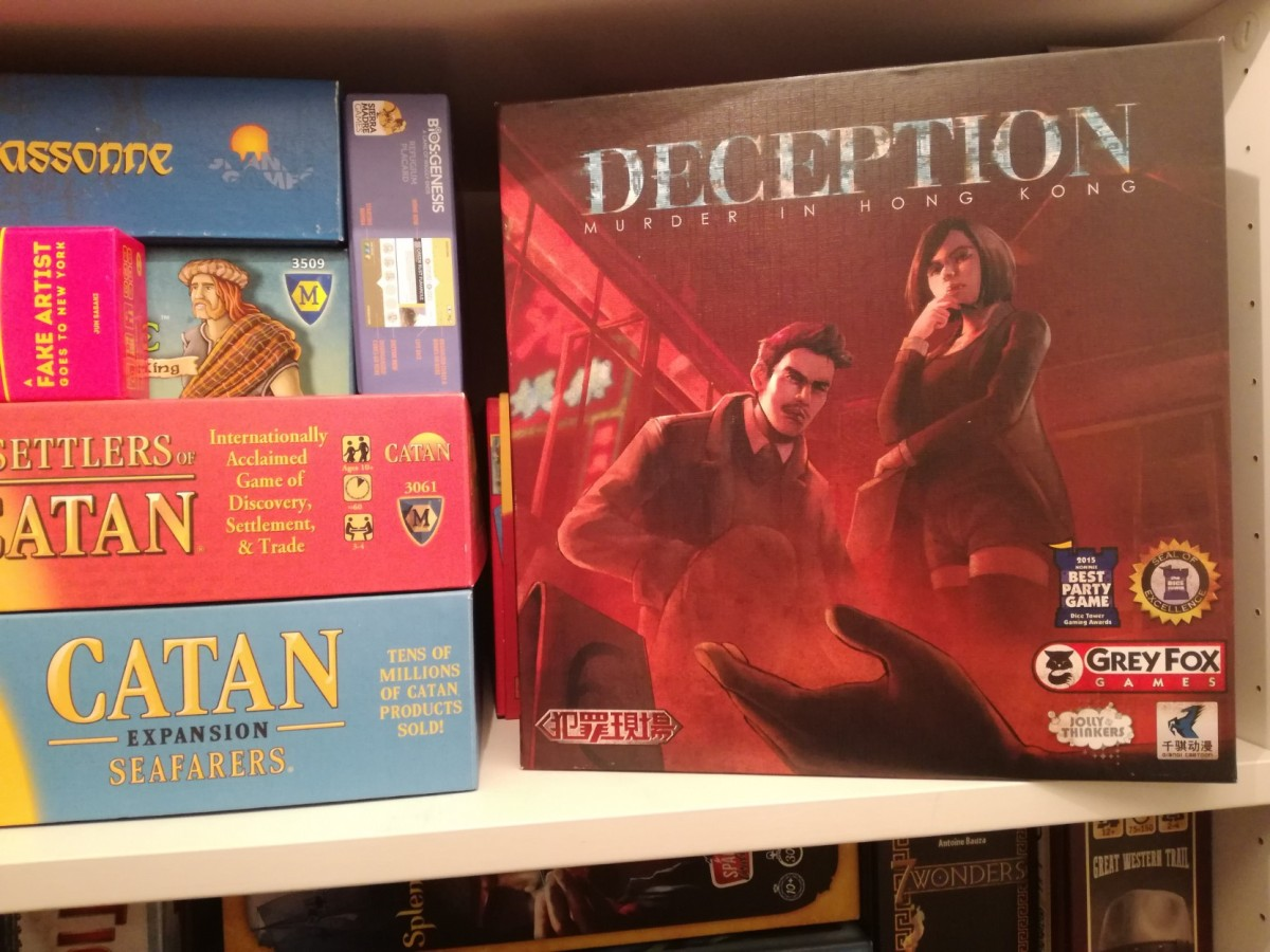 Deception: Murder in Hong Kong Review – Start Your Meeples image