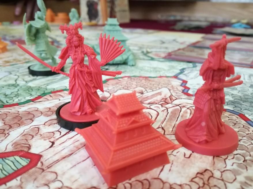 Rising Sun Strategy: Koi Clan Pieces