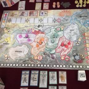 Board Game Mechanics 101: Area Control in Rising Sun