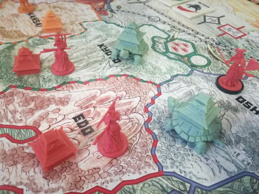 Rising Sun Review - The Koi Clan vs the Turtle Clan