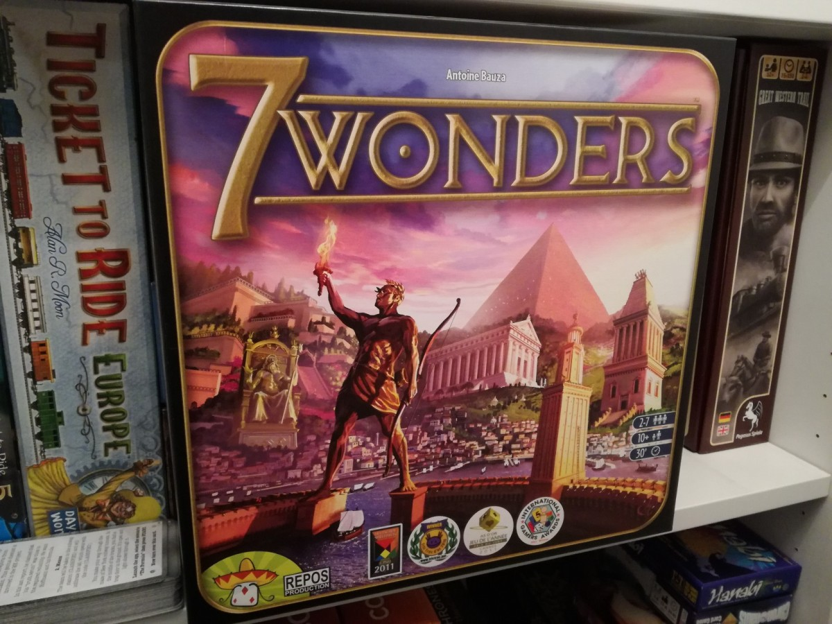 7 Wonders Review - Technology vs Power