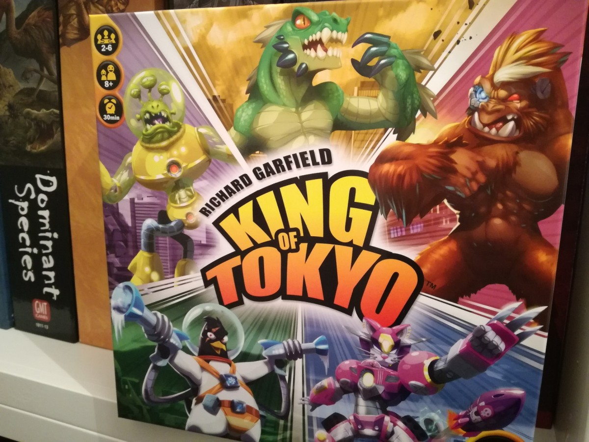 King of Tokyo Review - Big Trouble On Little Gaming Board