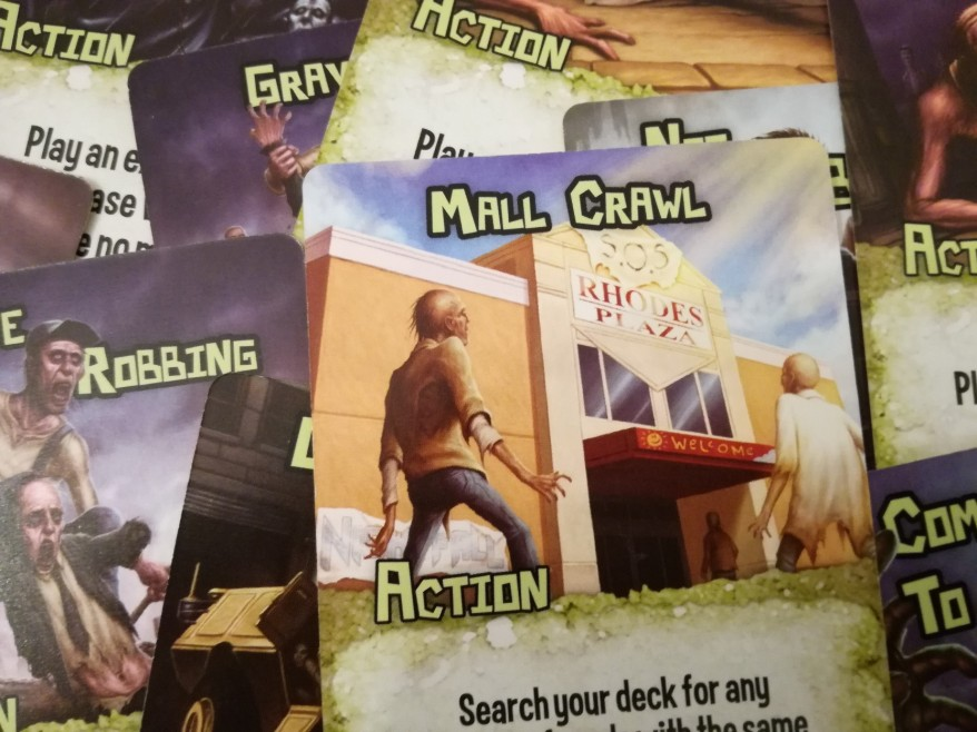 Zombie Strategy Action Cards