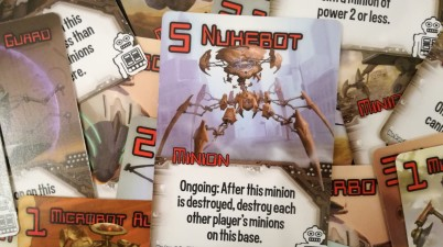 The Nukebot - An integral part to the Smash Up Strategy for the Robots.