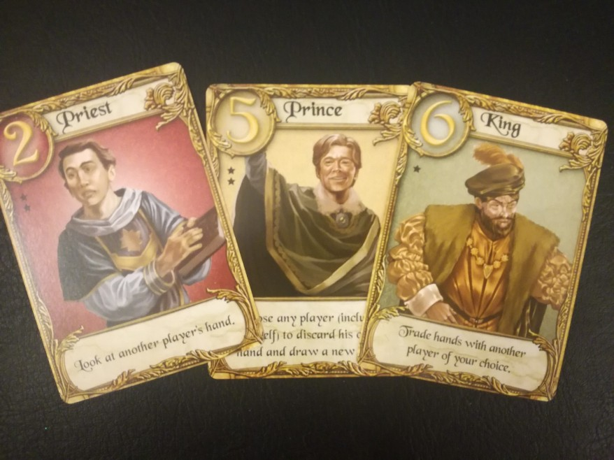 Love Letter Review: Card examples.