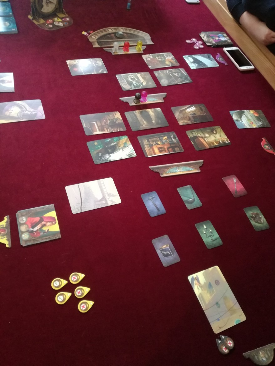Mysterium set up - round two
