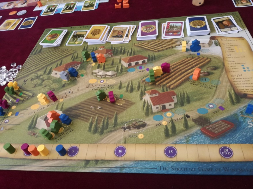 Viticulture: Essentials Edition main board.