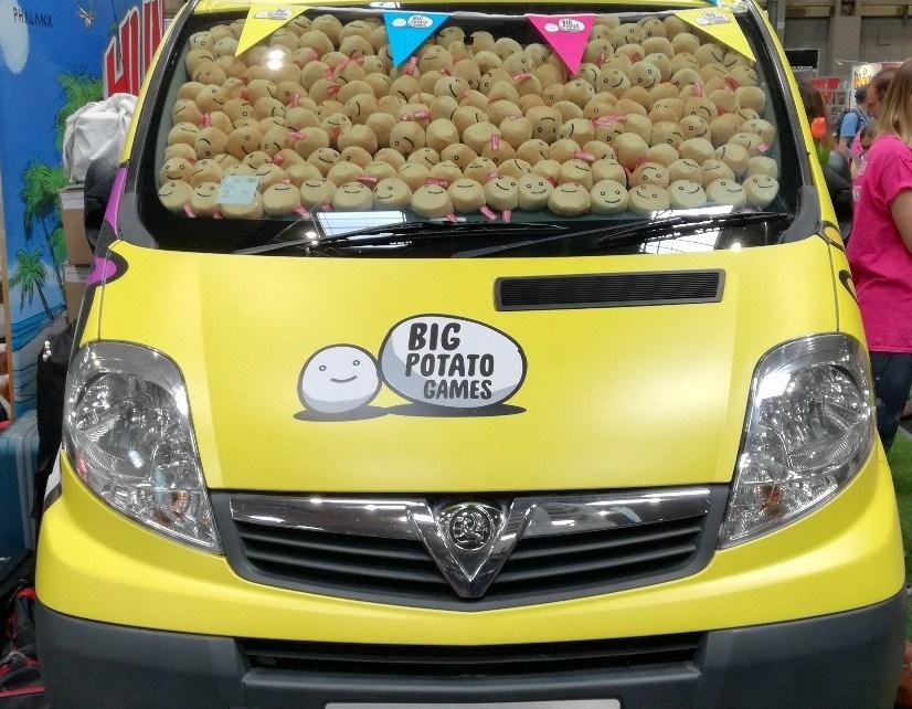 The Big Potato Van