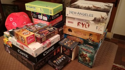 UKGE 2018 - The haul when we got home...