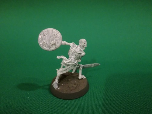 Painting Skeletons using Army Painter paints - Step 1: Stormvermin Fur and Matt White