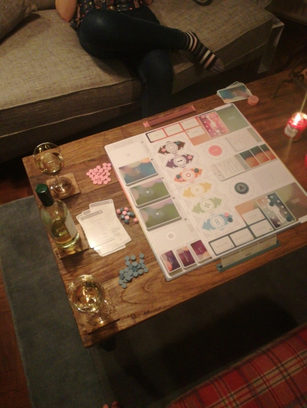 Date Night Board Game - Fog of Love
