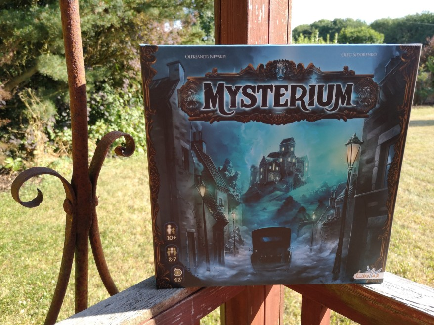 Games like Spyfall - Mysterium