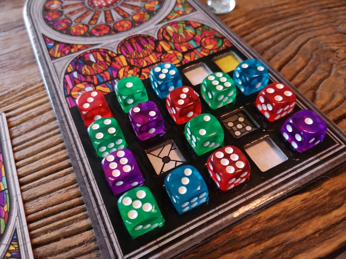 Sagrada Review - Stained Glass the Board Game