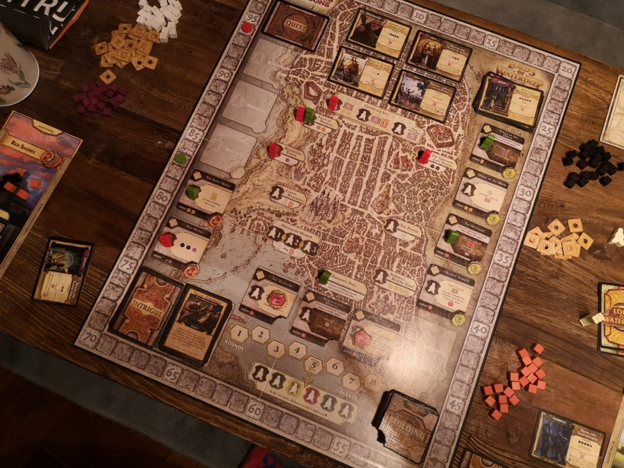 What is Lords of Waterdeep?