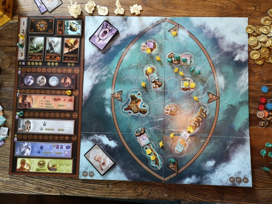 Board Games like Risk: Cyclades