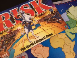 Five Board Games like Risk