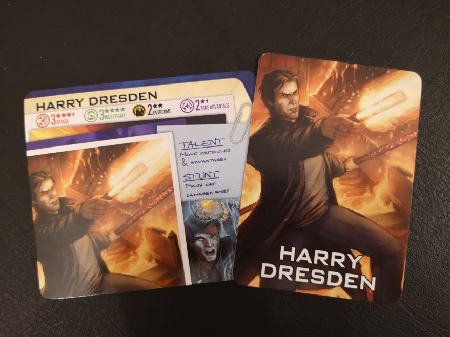 Dresden Files Cooperative Card Game: Harry Dresden and his Overview