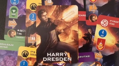 Dresden Files Cooperative Card Game: Harry Dresden Guide