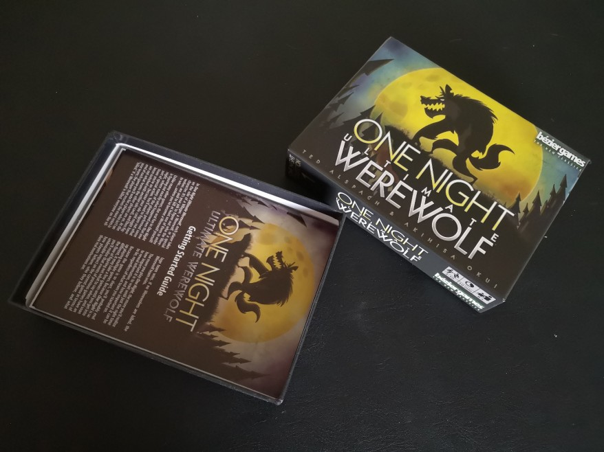 One Night Ultimate Werewolf Open Box