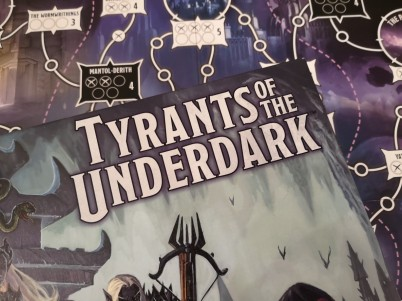 How well does the Tyrants of the Underdark board game capture the spirit of D&D?