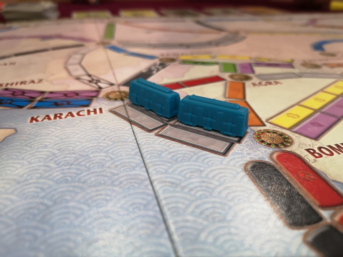 Ticket To Ride Asia: Legendary Asia Review – Start Your Meeples image