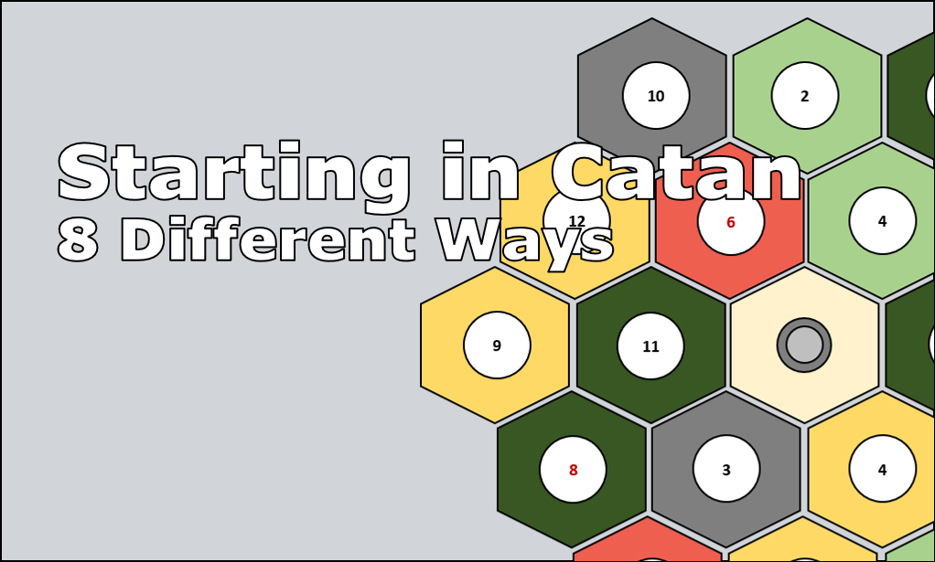 Catan Strategy: 8 Different Ways To Start – Start Your Meeples image