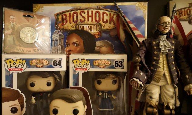 Part of the Bioshock shelf