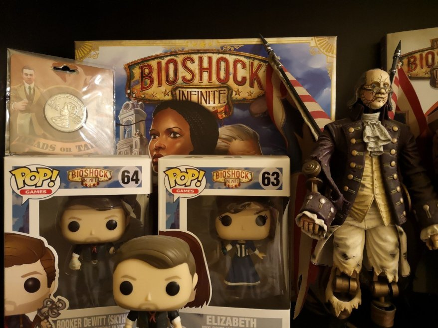 Part of the Bioshock shelf