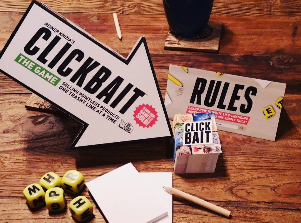 Clickbait Review – This Review Will Change Your Life – Start Your Meeples image
