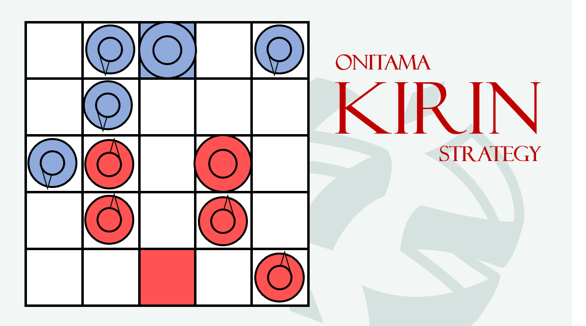 Onitama: Kirin Strategy – Start Your Meeples image