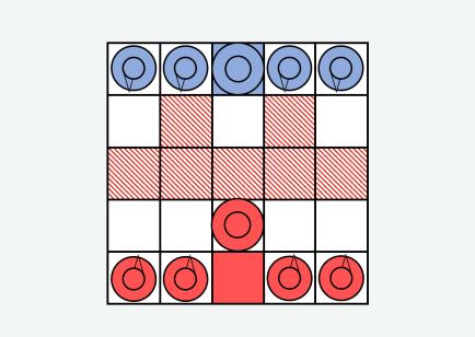 Onitama Strategy - Kirin 6