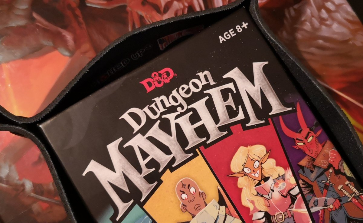 How Well Does Dungeon Mayhem Capture The Spirit Of Dungeons and Dragons? image